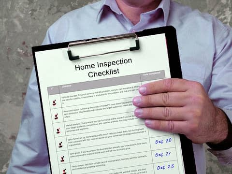 Home Watch Inspection Checklist